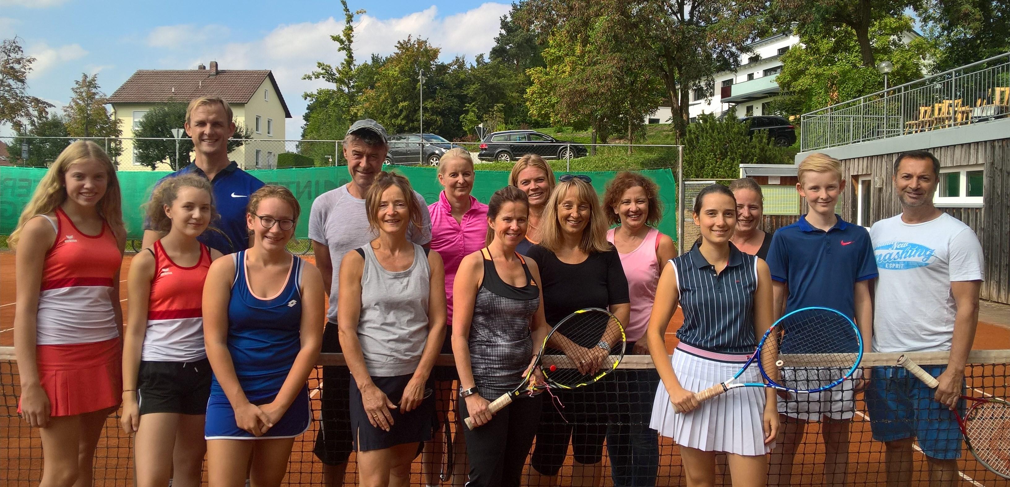 Saisonabschluss-Turnier der Tennisabteilung Kühbach 2018