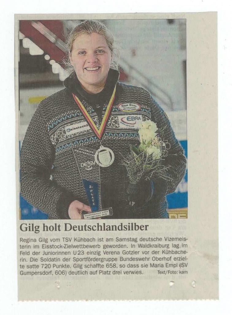 Gilg holt Deutschlandsilber