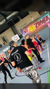 Zumba Party im Sportpark