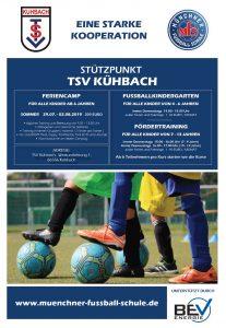 Münchner Fußball Schule auch 2019 im Sportpark