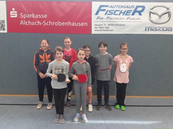 Erstes Freundschaftsspiel TSV Kühbach Mini gegen TSV Pöttmes