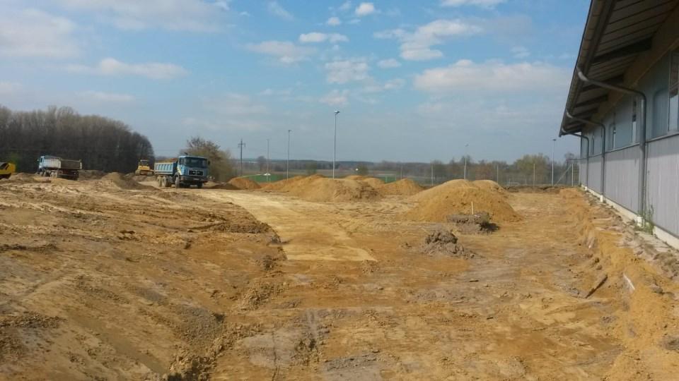 Neubau der Tennisanlage am Sportpark