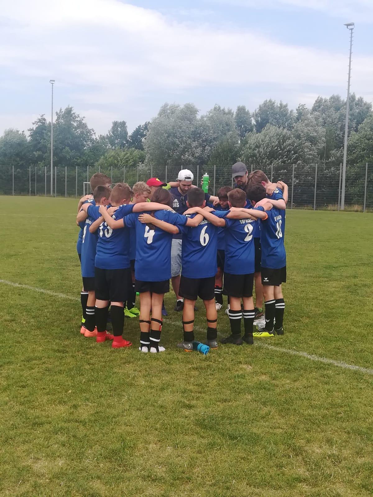 Letztes Heimspiel D-Jugend 2018/2019