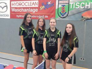 TT Auftakt Mädchen 1 Bayernliga Süd