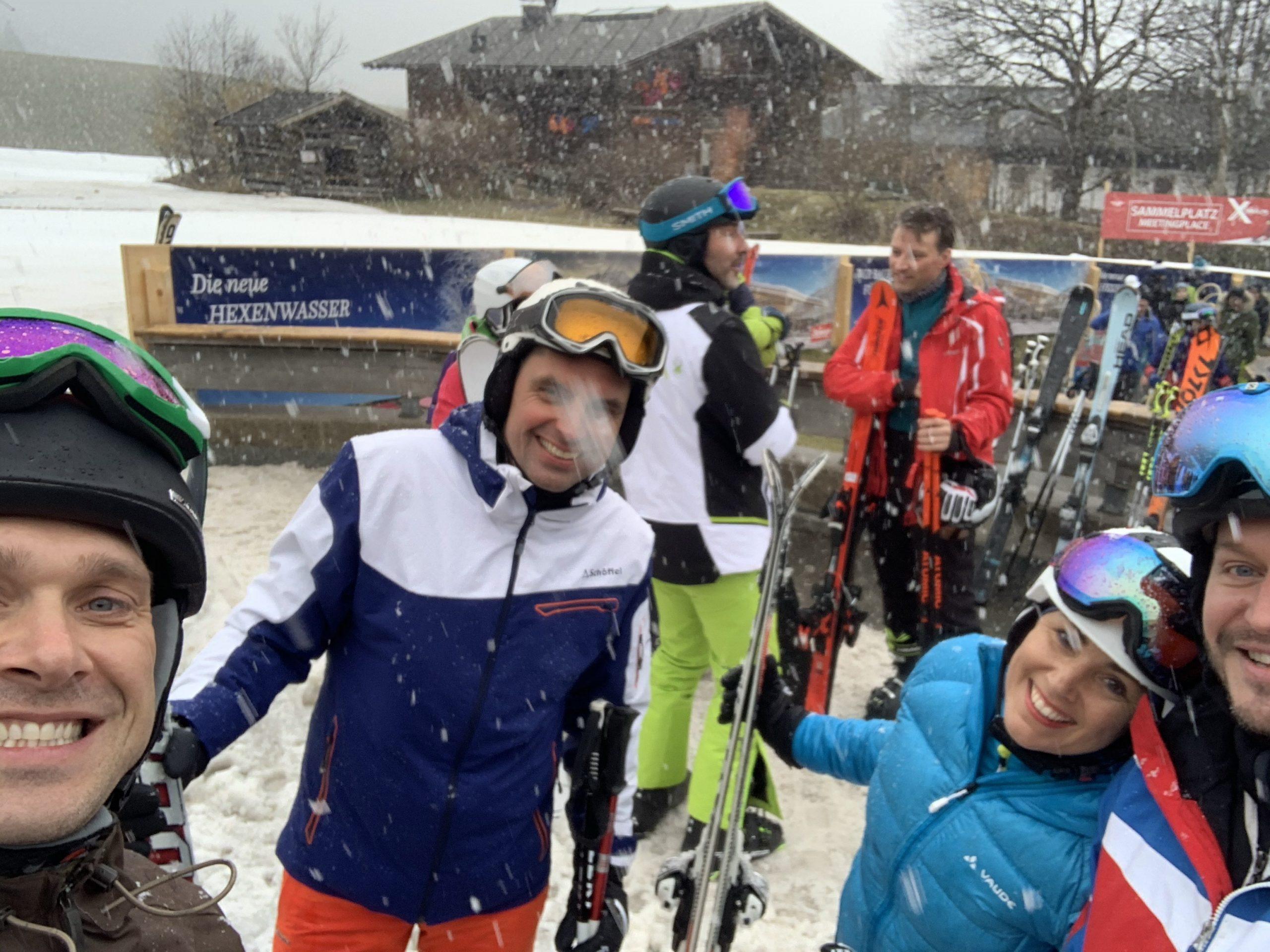 """TSV Kühbach meets Heimatsport"" - Skiausflug nach Söll/Wilder Kaiser"