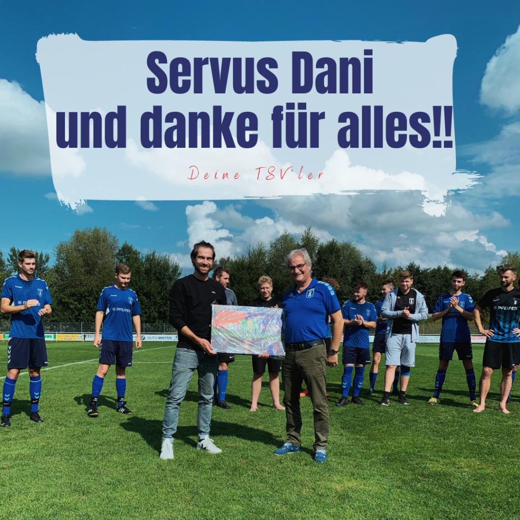 Kühbacher Senioren verabschieden Ex-Coach Daniel Ruisinger