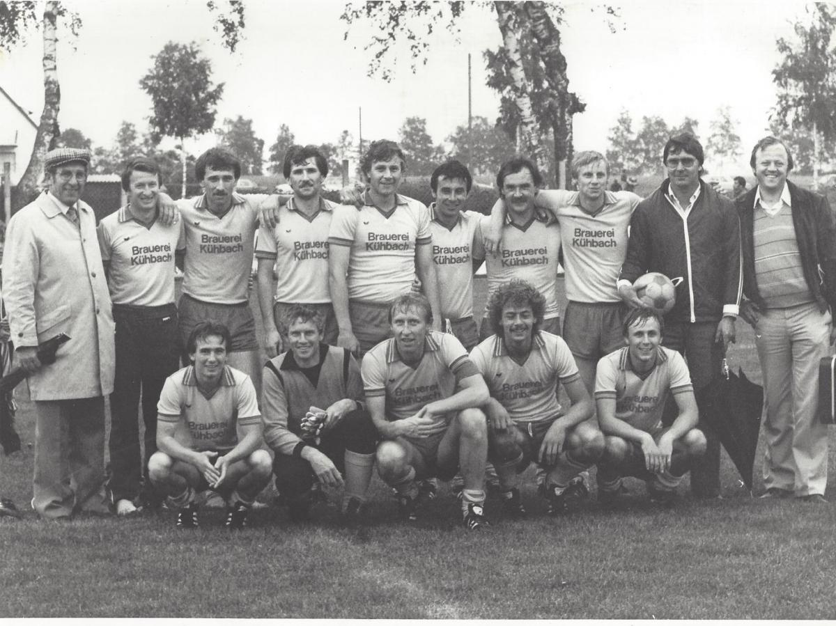 1. Mannschaft 18.06.1981 Entscheidungsspiel Verbleib A-Klasse O