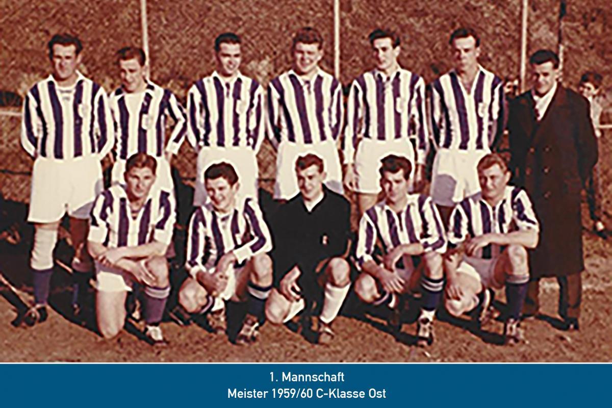 Meister 1.Mannschaft 1960