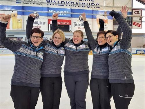 Stockschüzten Buli 2019 Damen 1 2.Spieltag Waldkraiburg 13.01.2019
