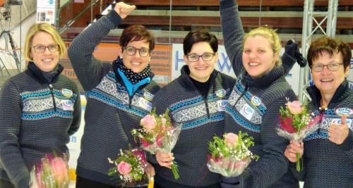 Stockschützen 64. Deutsche Meisterschaft auf Eis Damen Waldkraiburg 25./26.01.2019