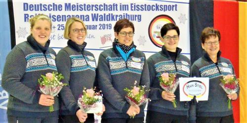 DM Damen 2019 in Waldkraiburg 25./26.01.2019 - 2