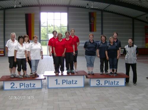 Bezirksoberliga 1.Platz 2017