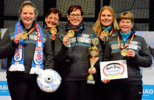 Deutscher Meister 2017 auf Eis