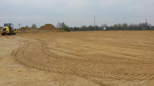 Neubau Tennisanlage