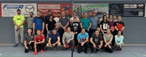 Tischtennis-Hobbyturnier 2019