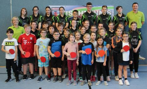Tischtennis Vereins-Mini_Meisterschaft Jugend 2018