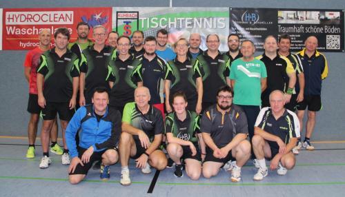 Tischtennis Vereinsmeisterschaft Herren und Damen 2019
