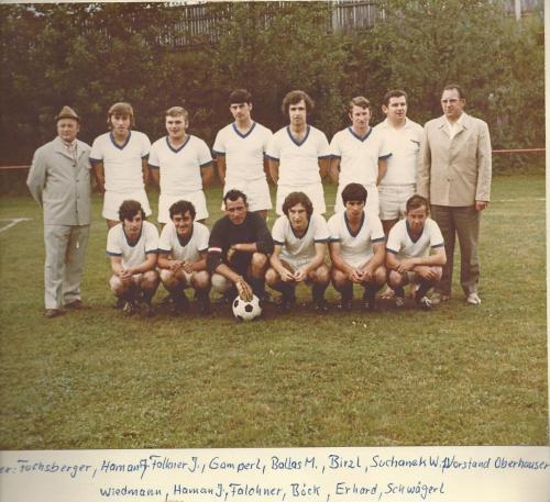 1.Mannschaft 1971-72