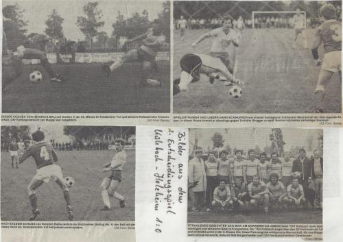 1.Mannschaft 80-81 Entscheidungsspiel Nr.2 Bilder