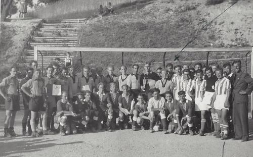 1.Mannschaft Pokalturnier 1950 in Kühbach 1