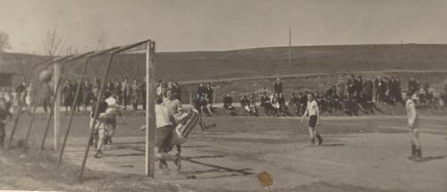 1.Mannschaft Pokalturnier 1950 in Kühbach 6