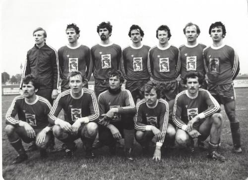 1. Mannschaft 1978 Winter