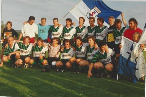 1. Mannschaft 1992-93 Aufsteiger a