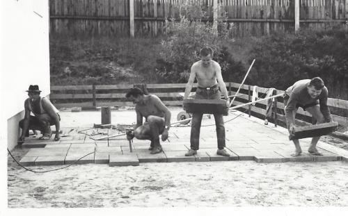 Arbeitsdienst 1969 Sportheim