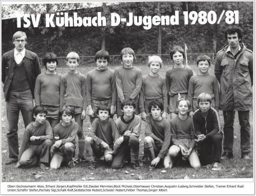 D-Jugend 1980-81