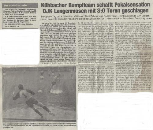 DFB Pokal 1985 2