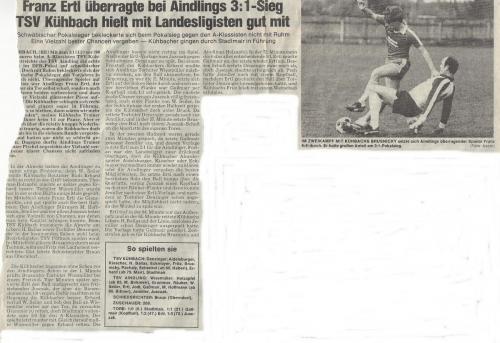 DFB Pokal 1985 3