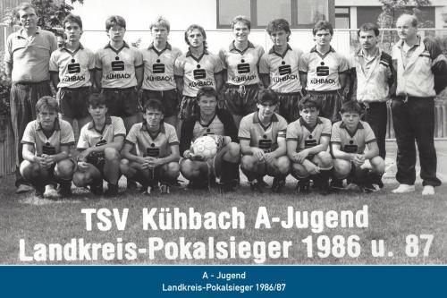 Landkreis-Pokalsieger A-Jugend 1987
