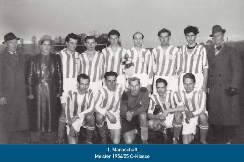 Meister 1.Mannschaft 1955