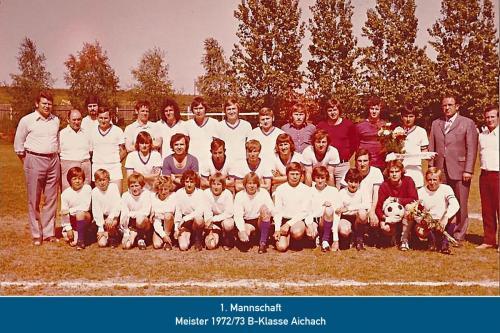 Meister 1.Mannschaft 1973