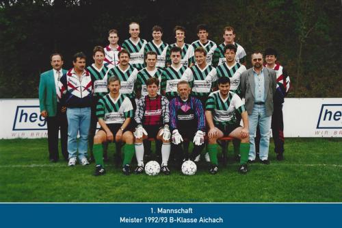 Meister 1.Mannschaft 1993