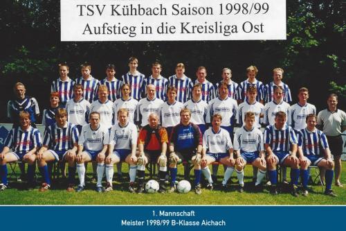 Meister 1.Mannschaft 1999