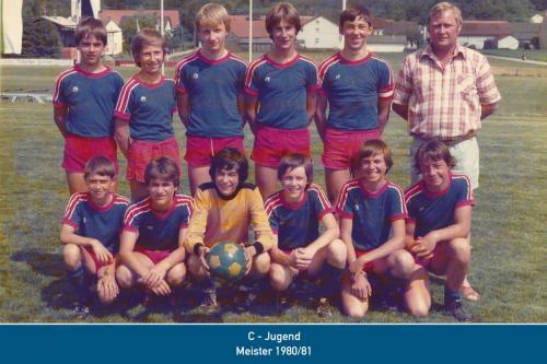 Meister C-Jugend 1981