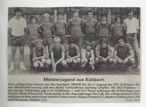 Meister C-Jugend 1982-83