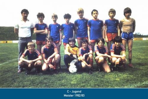 Meister C-Jugend 1983