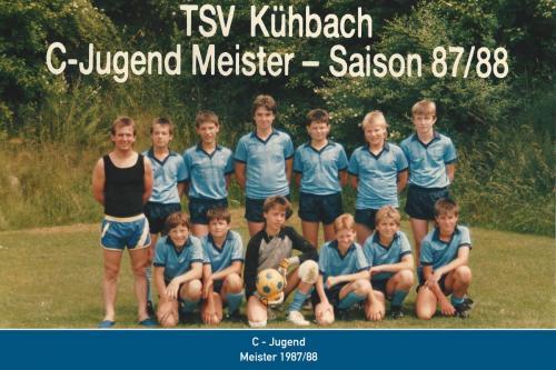 Meister C-Jugend 1988