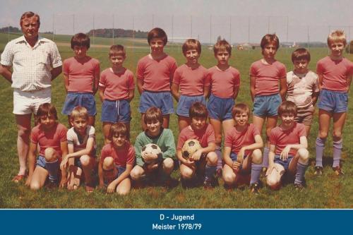 Meister D-Jugend 1979