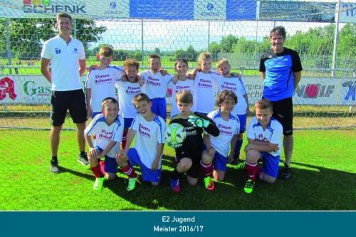 Meister E2 Jugend 2017