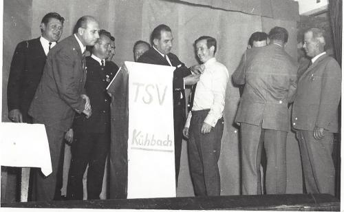 Sportheim Einweihung 1969 2