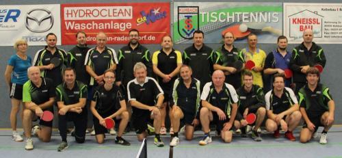 Tischtennis Vereinsmeisterschaft Herren 2018