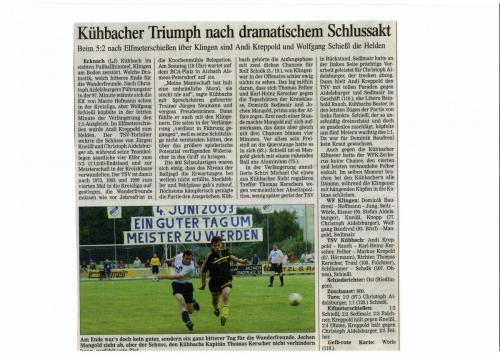 Zeitungsartikel 2003 3